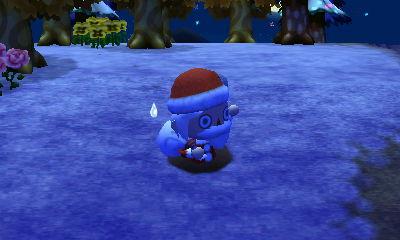 pitfallen Santa