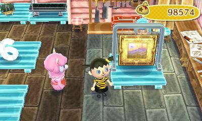 gold-framed rose post remake