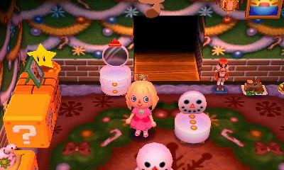 snowman dresser
