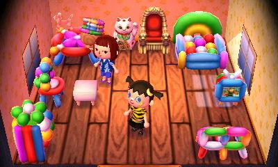 Neko's house. OMG a THRONE!?!?!