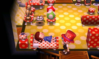 Polka dot room! ♥