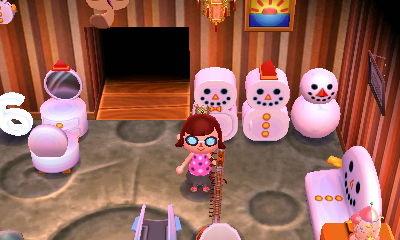 Snowman Refrigerator
