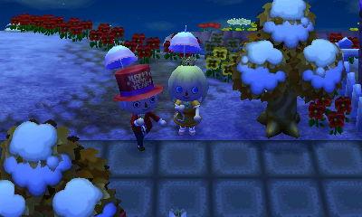 twin parasols