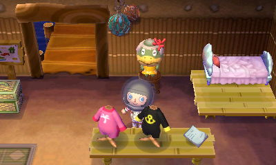 I wanted that pink number in front of me. I picked up the mermaid bed for Zen.