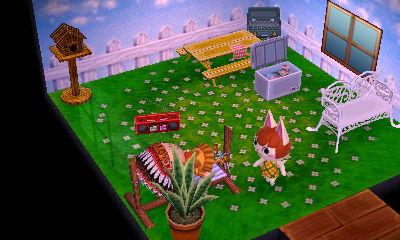 I love her picnic house!