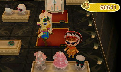 I bought the pink Lolita dress. So cute!