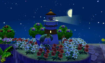 Wasabi Village's lighthouse