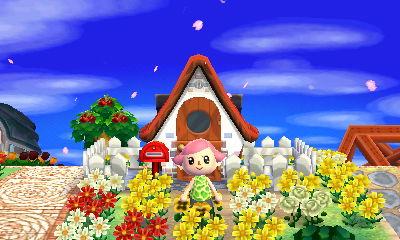 petals flying