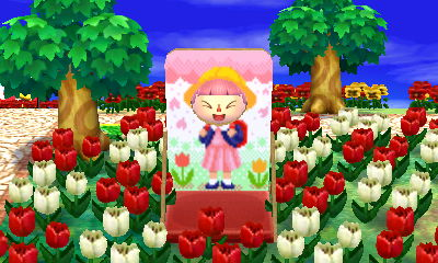 Booted Mario for backpack girl & tulips
