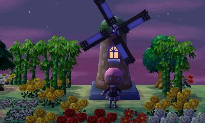The windmill in Jisuna village