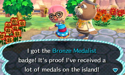 Woo! Not quite enough island tours to get the 100 medal wallpaper I wanted. Maybe I'll see it again someday...
