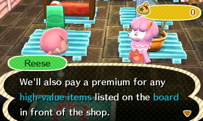 oooooh I learned something! Today she paid top dollar for coral.