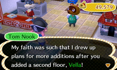 Of course you did, Nook. Of course you did.
