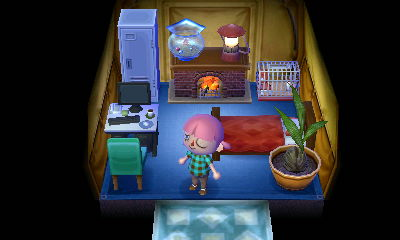 Ok, it's a lot cozier than Yumi's was.