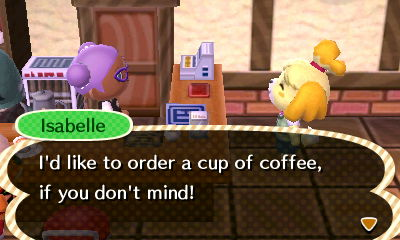 Coming right up Isabelle!