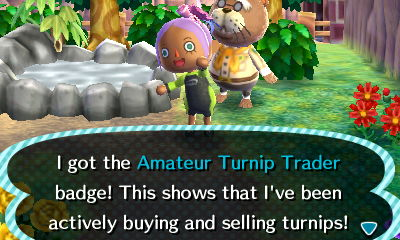 Amateur Turnip Trader Badge!