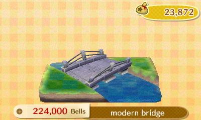 Shep requested a modern bridge