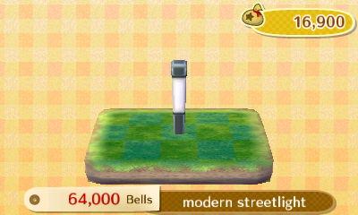 modern streetlight