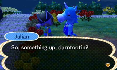 Julian somehow stole Soleil's catchphrase. Dislike.
