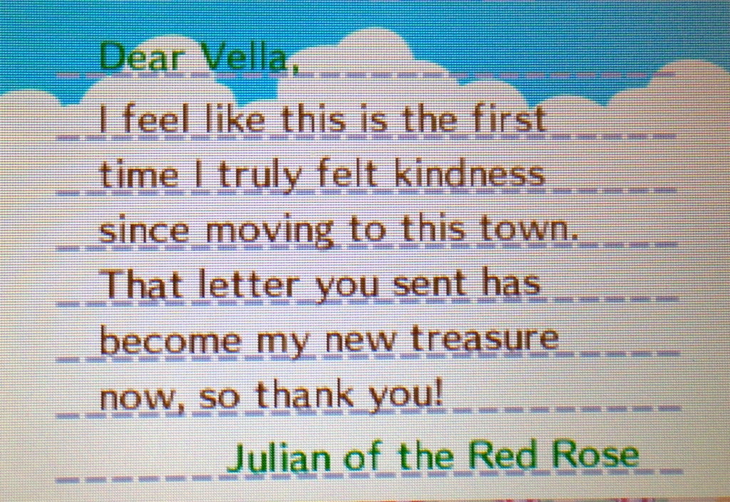 Does this mean all my townies are being mean to Julian? Say it ain't so!