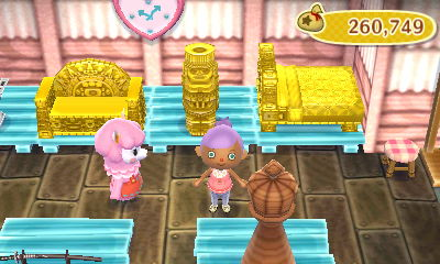 unfortunately I keep getting duplicate gold furniture...