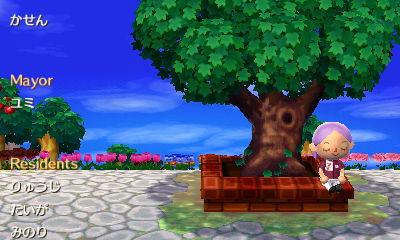 Me sitting on Kasen's town Tree