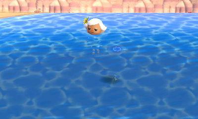 Me Diving in the Ocean (I am the inky blot below Euphy)