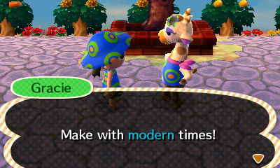 Animal Crossing How To Pass Gracie S Fashion Check