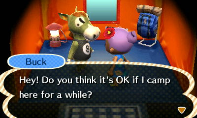 Actually Buck, I kind of want you to leave. Like, now.