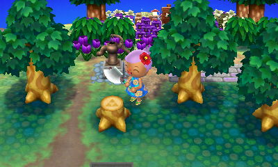 I couldn't have asked for a better stump. I didn't have that one yet in any of my towns.