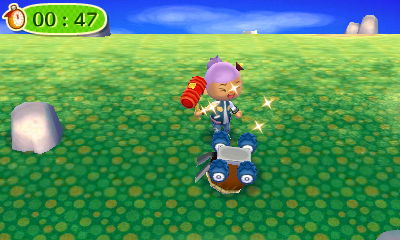 Take that foul acorn lawn mower roomba!