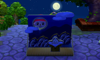 Ok, I did get to see the Autumn Moon: in SomSom village at 7am. ;) Thanks Mikayla!