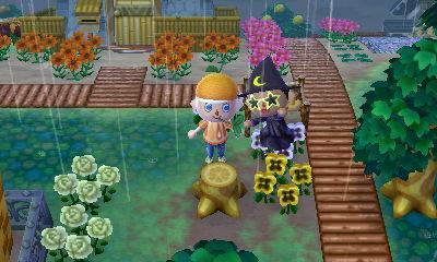 Money bags Yumi got to celebrate paying off Hanabi's Totem Pole