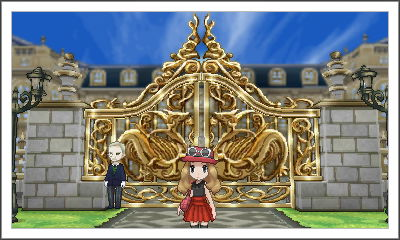 Default Li'l old me in front of the Parfum Palace