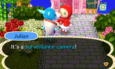 No no. I want *your* picture, not a camera.