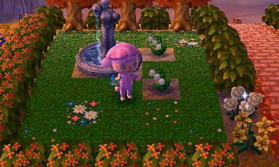 I love this fountain garden ♥