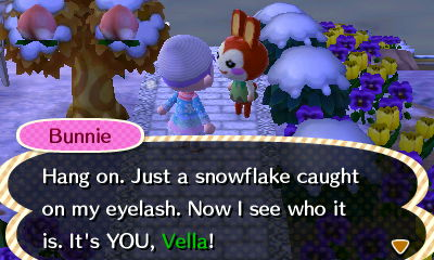 I liked being the prettiest snow woman better Lillian/Bunnie.