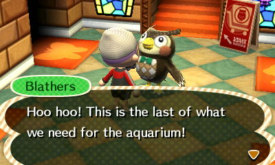 And that's all the fanfare you get for a completed aquarium.