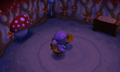 I like the backwards mushroom tv!