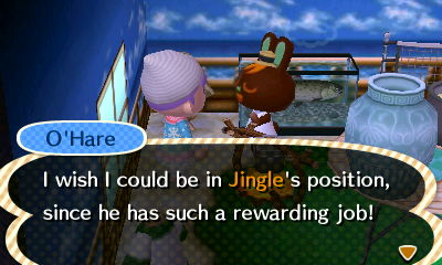 Being Jingle is not one of your present options O'Hare...