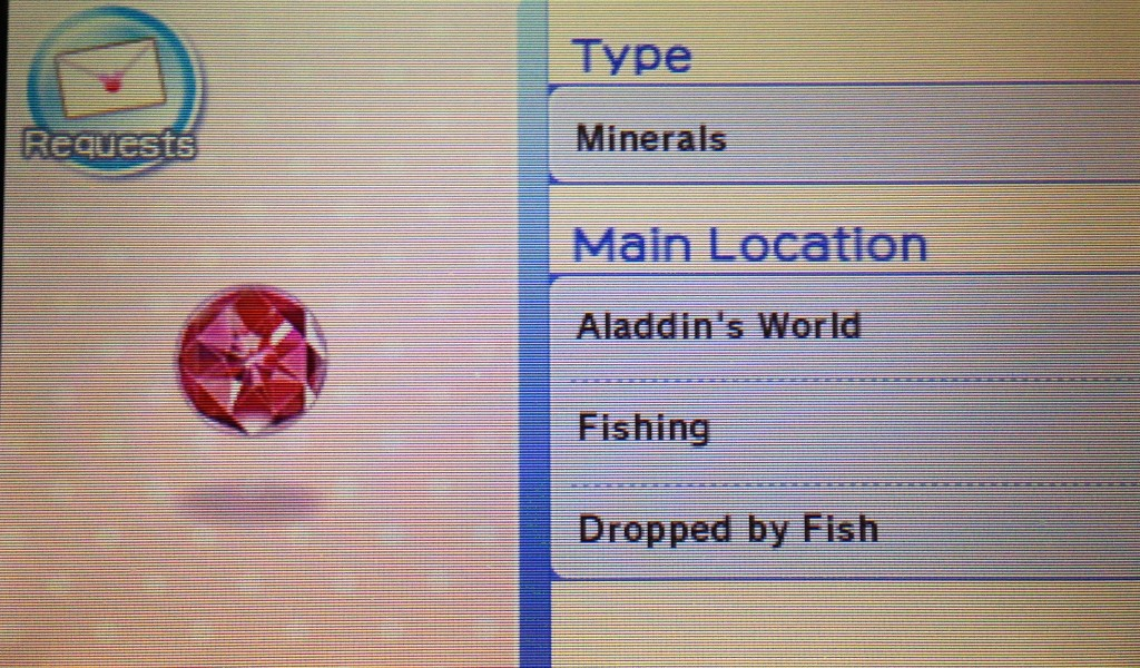 An NPC wants this item. Unfortunately I haven't unlocked Aladdin's World yet.