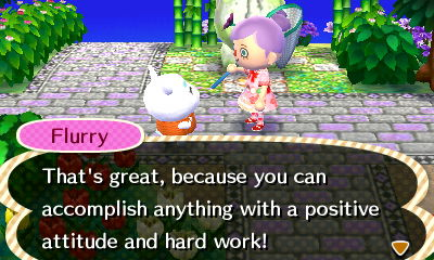 Sage advice from the game. Too wise, hamster. Too wise.