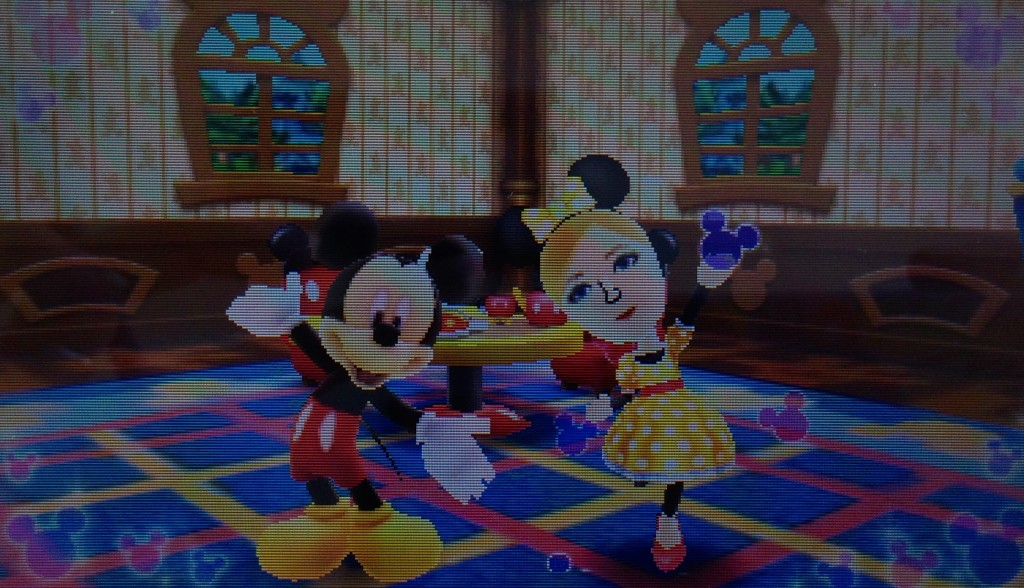 I hope Minnie doesn't get mad about my poor impersonation.