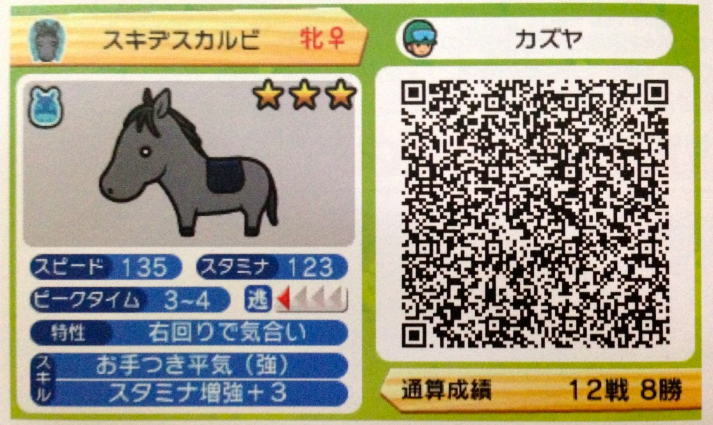 Solitiba QR Code from May 2014 issue of Nintendo Dream.