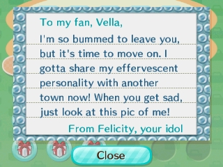 I'll look at that one and the three others you gave me idol cat!