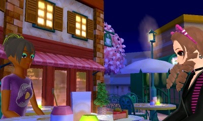 Speak with the 2nd NPC from the left at café street until you trigger the berry berry cake event.