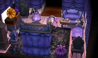 Gigi's goth-lolita room