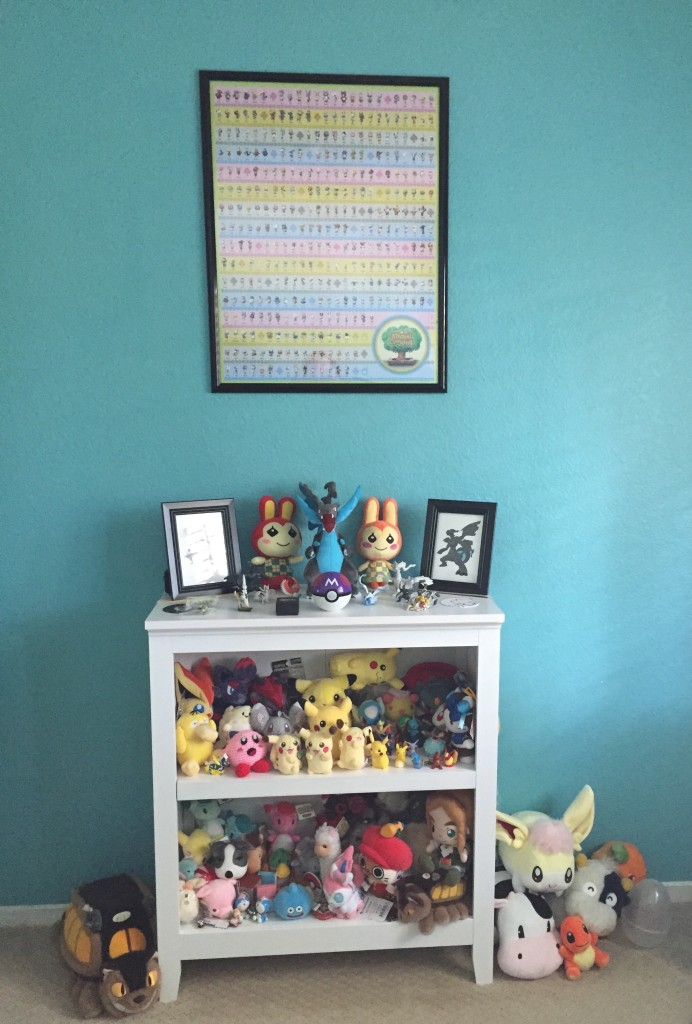 The plushie shrine.